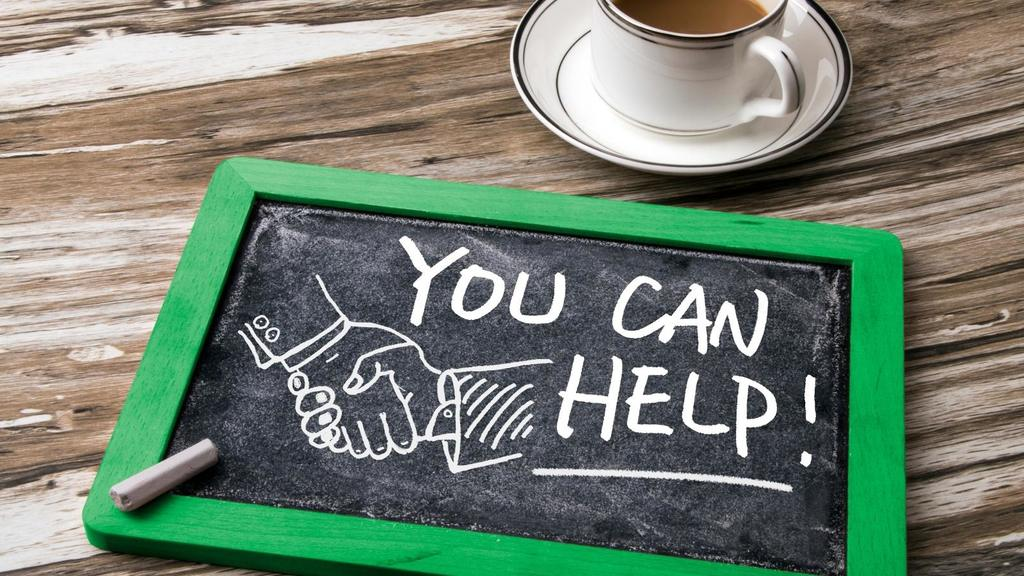 give or take with your small business by helping more