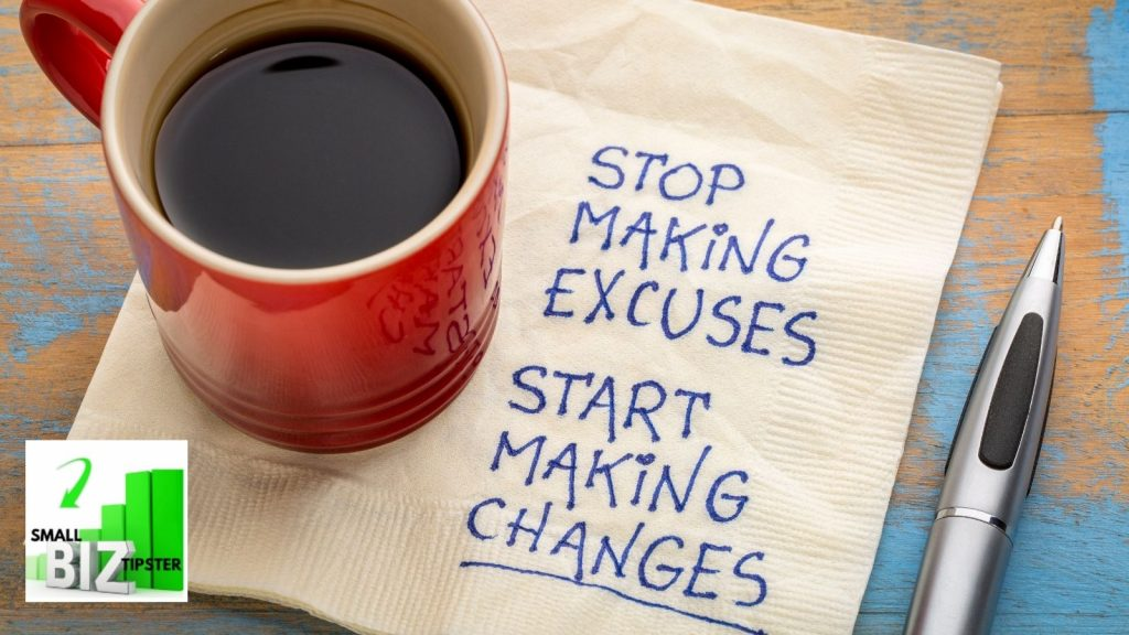 limiting beliefs and making excuses do not work