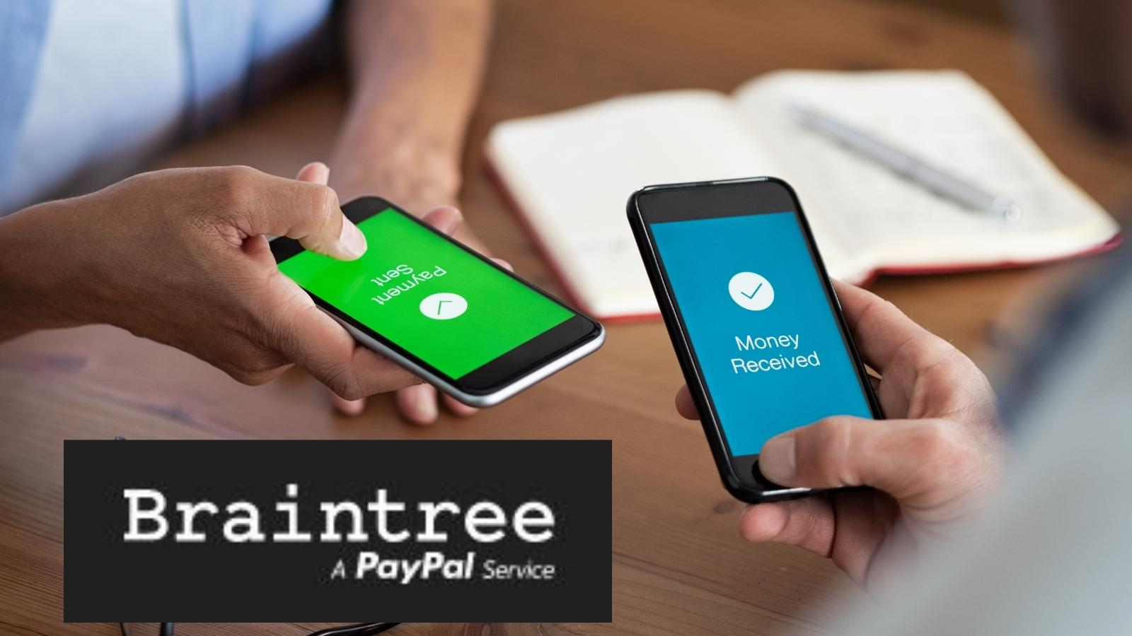 braintree one of many payment processors to choose from